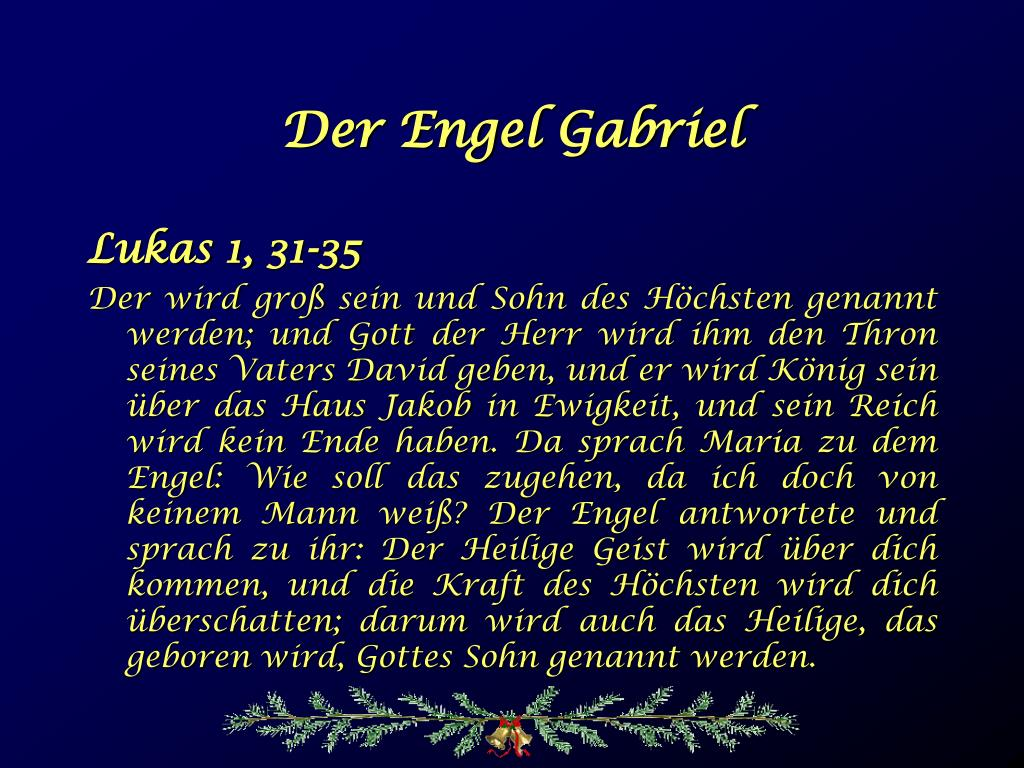 Der Engel Gabriel