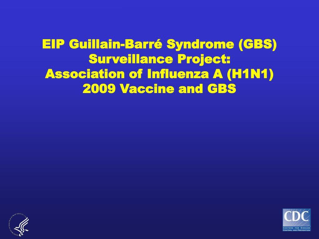 EIP Guillain-Barr