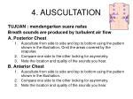4 auscultation