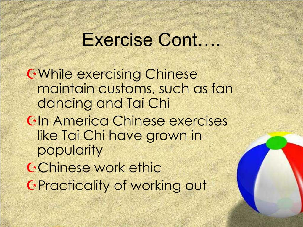 Exercise Cont….