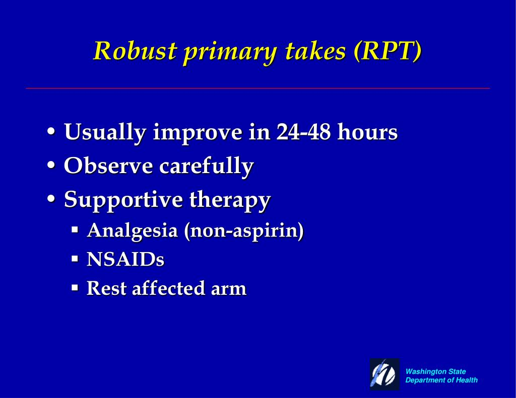 Robust primary takes (RPT)
