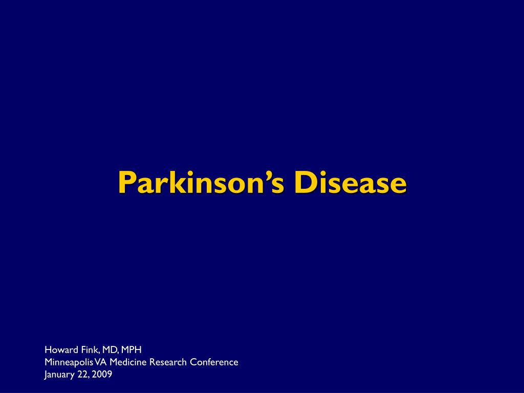 Parkinson's Disease