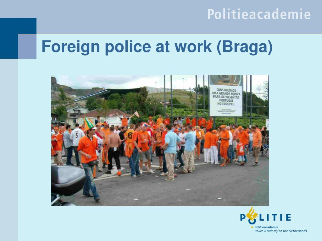 Foreign police at work (Braga)