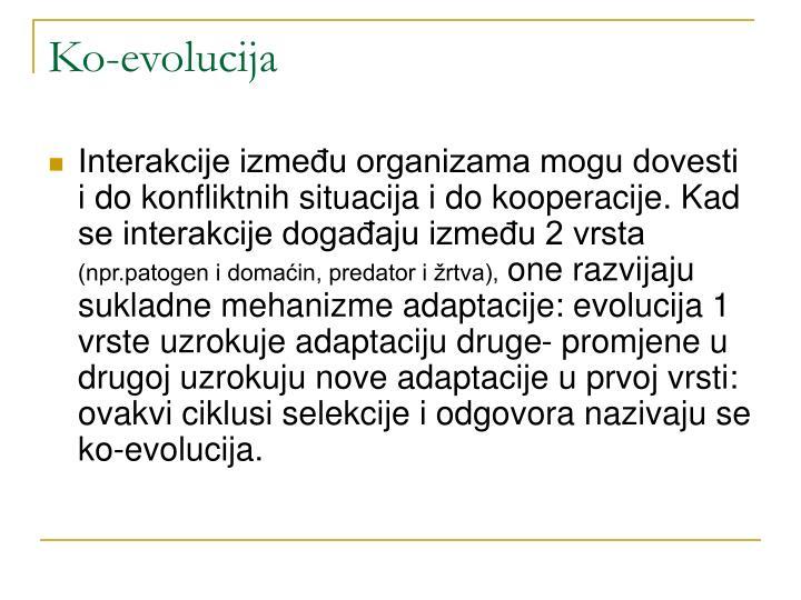 Ko-evolucija