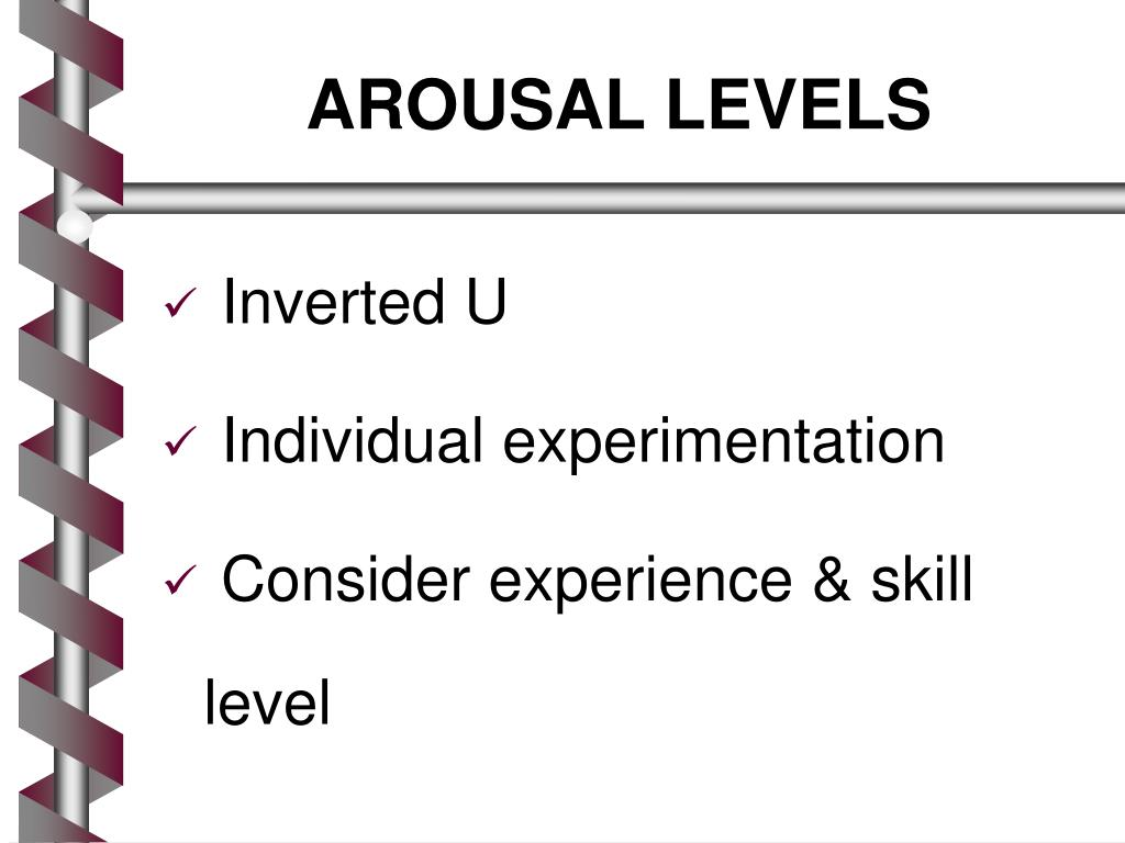 AROUSAL LEVELS