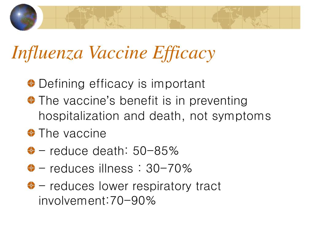 Influenza Vaccine Efficacy