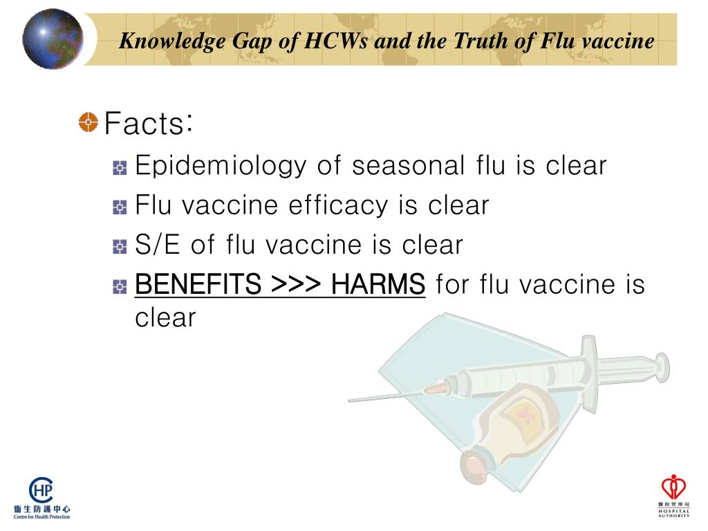 Knowledge Gap of HCWs and the Truth of Flu vaccine