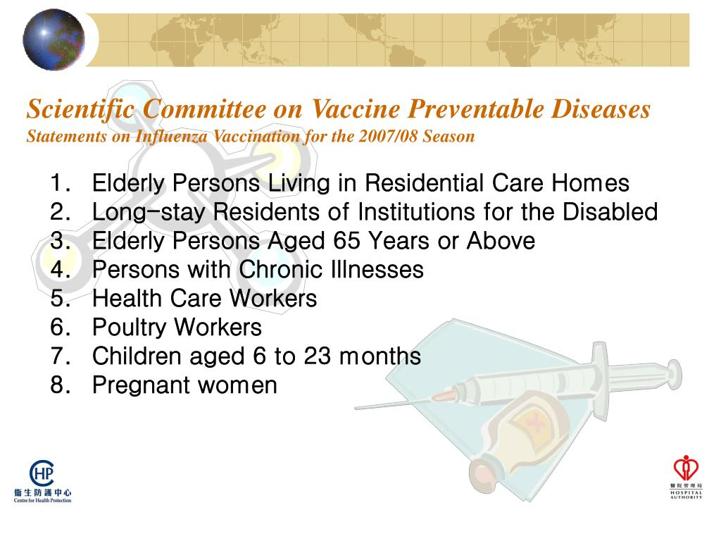 Scientific Committee on Vaccine Preventable Diseases