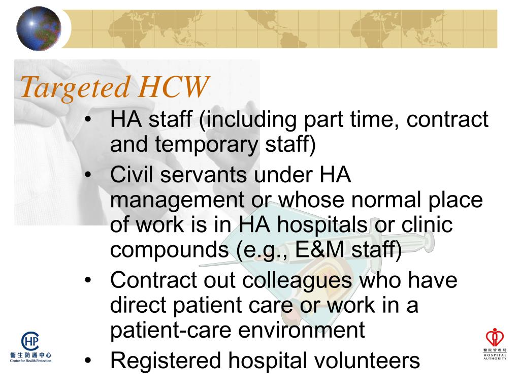 Targeted HCW