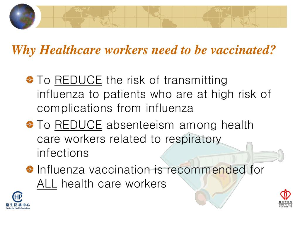 Why Healthcare workers need to be vaccinated?