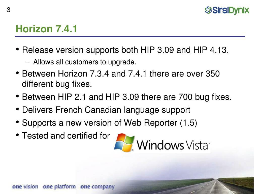 Horizon 7.4.1