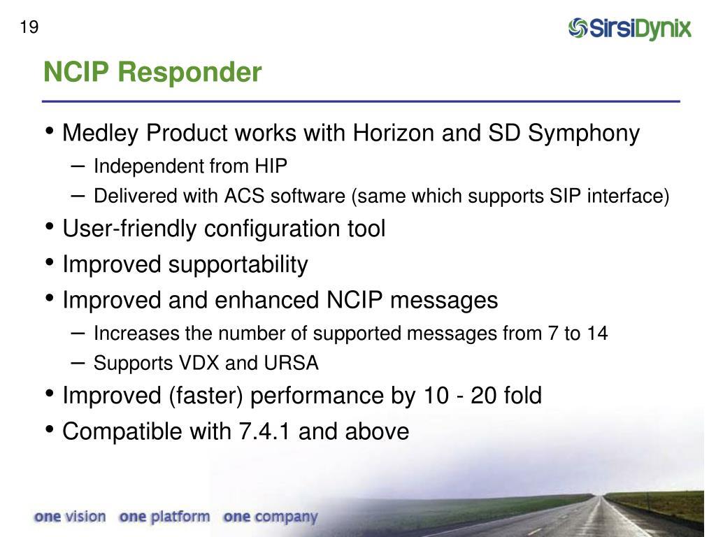 NCIP Responder