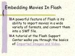 embedding movies in flash16