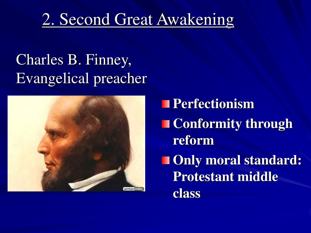 2. Second Great Awakening