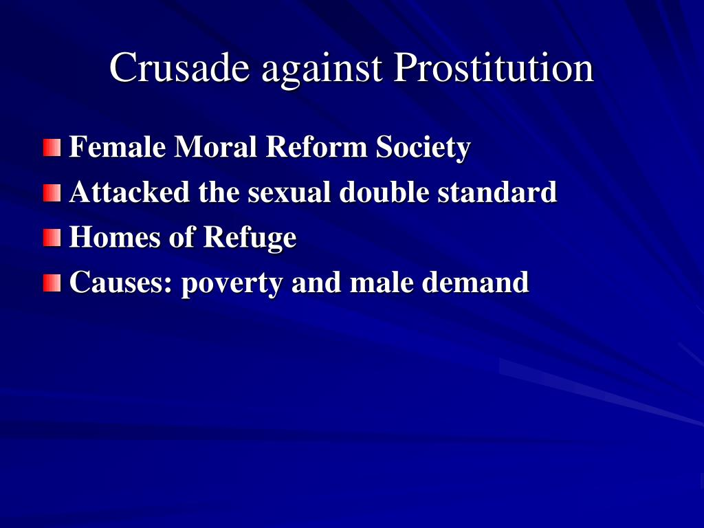 Crusade against Prostitution