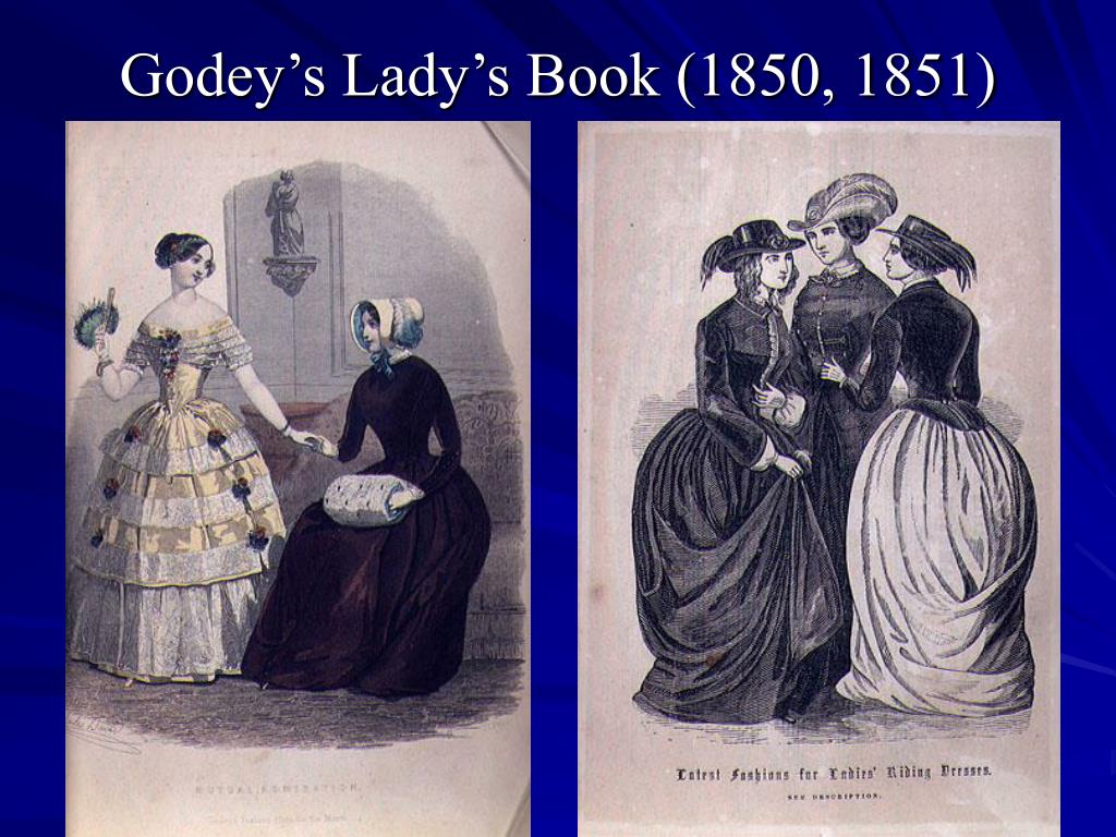 Godey's Lady's Book (1850, 1851)