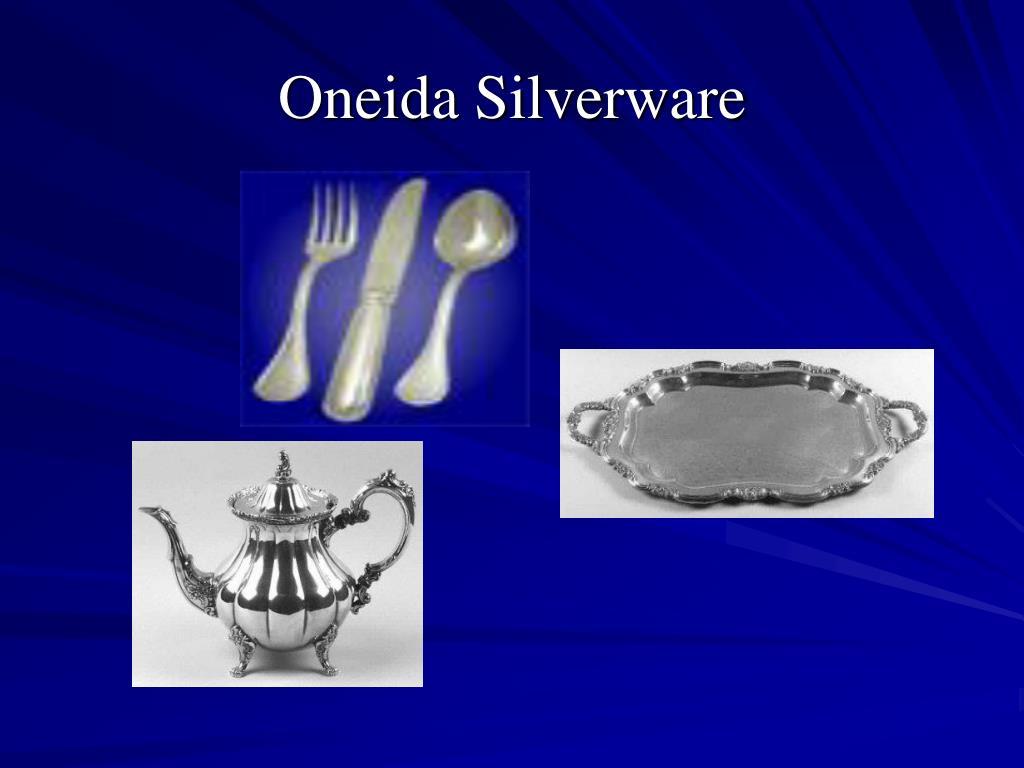 Oneida Silverware