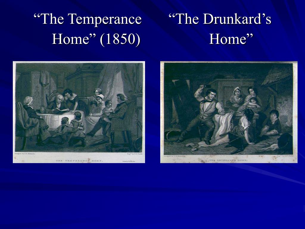 """The Temperance       ""The Drunkard's"