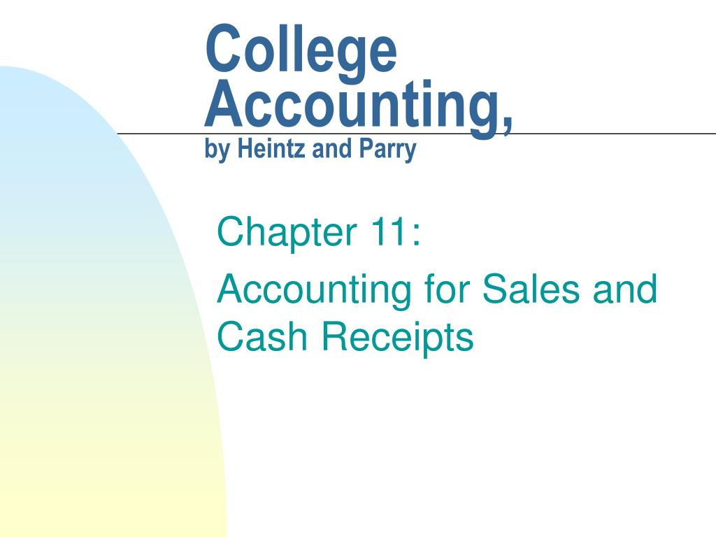 College Accounting,