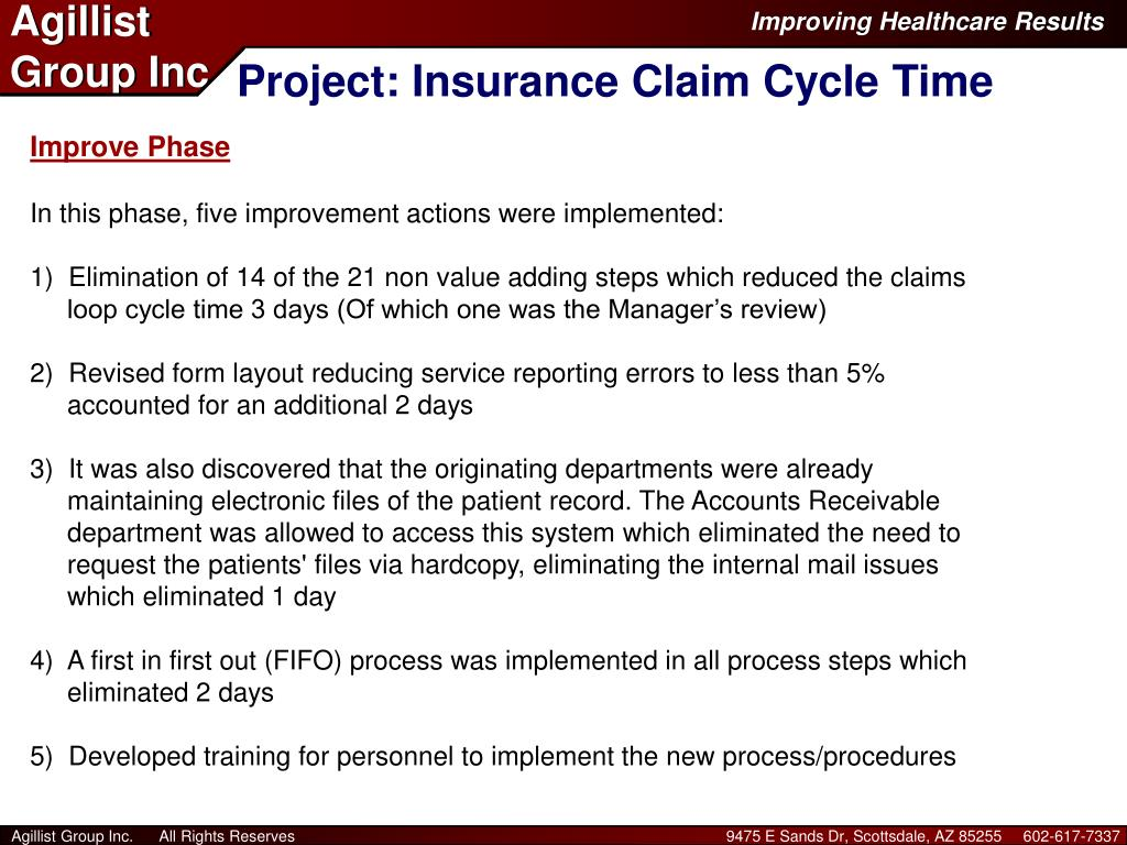 Project: Insurance Claim Cycle Time