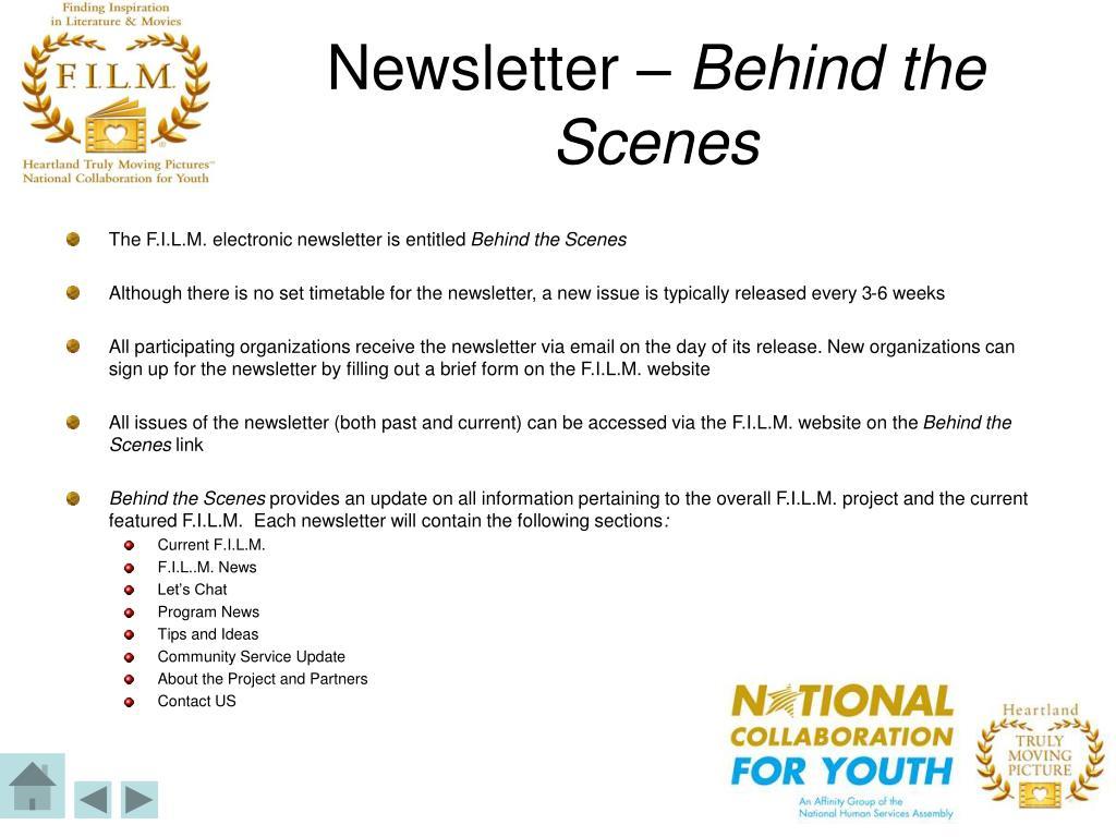 Newsletter –