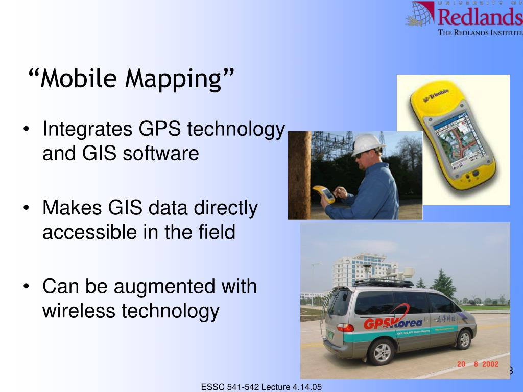 """Mobile Mapping"""