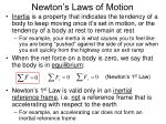 newton s laws of motion6