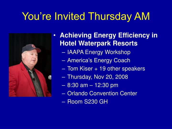 Achieving Energy Efficiency in Hotel Waterpark Resorts