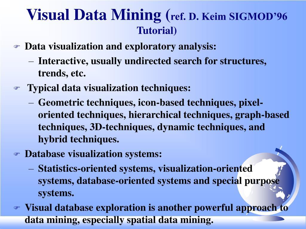 Visual Data Mining (