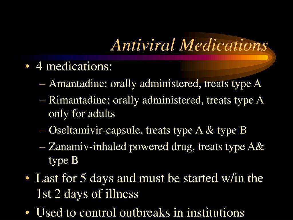 Antiviral Medications