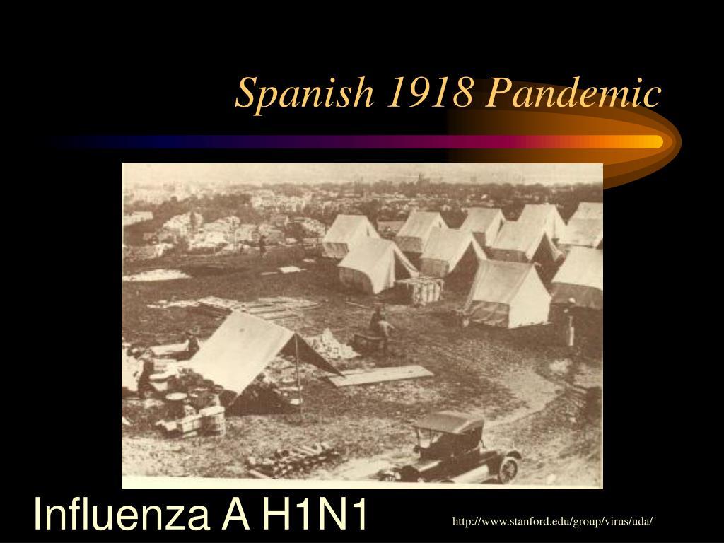 Spanish 1918 Pandemic