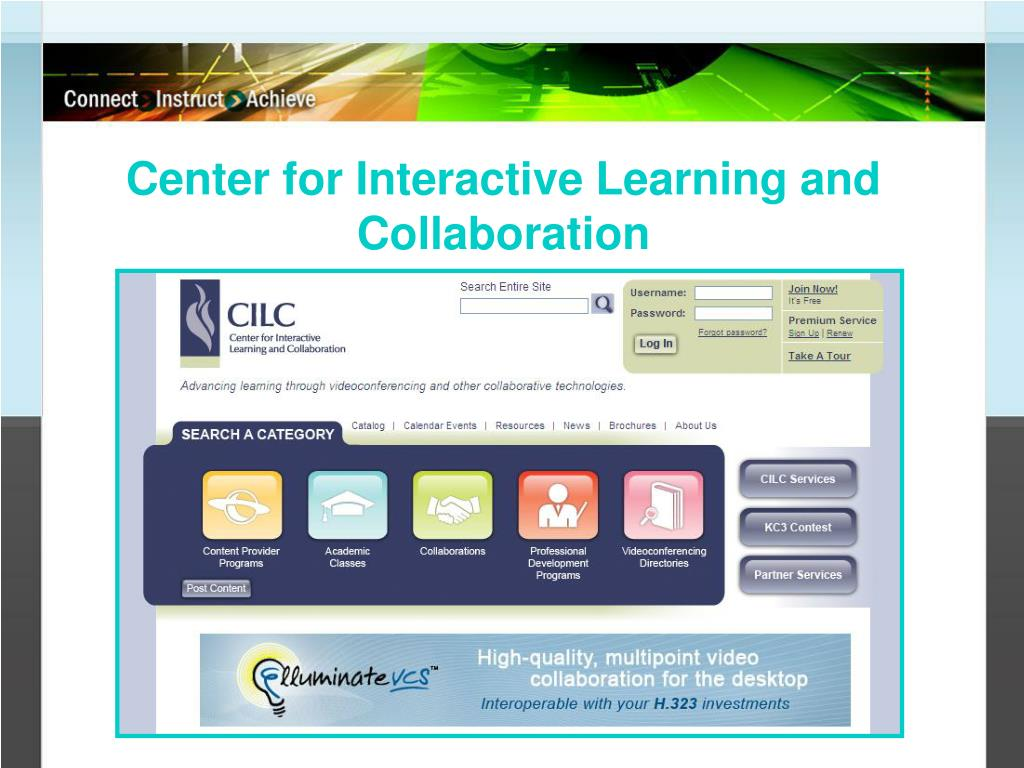 Center for Interactive Learning and Collaboration