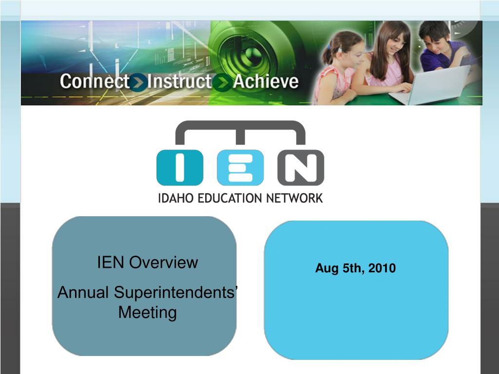 IEN Overview