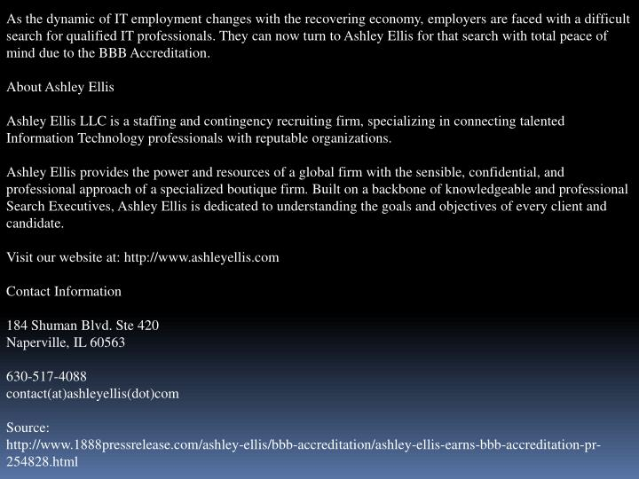 As the dynamic of IT employment changes with the recovering economy, employers are faced with a diff...