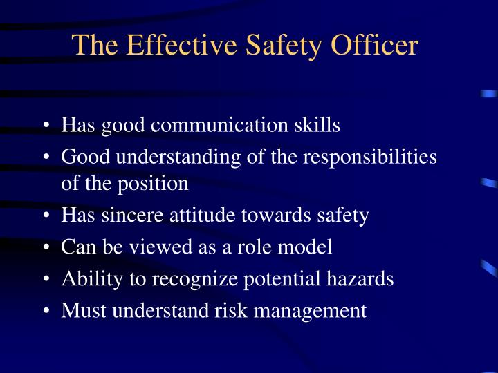 The effective safety officer l.jpg