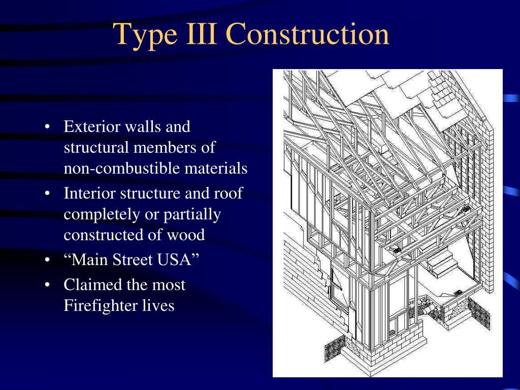 Type III Construction