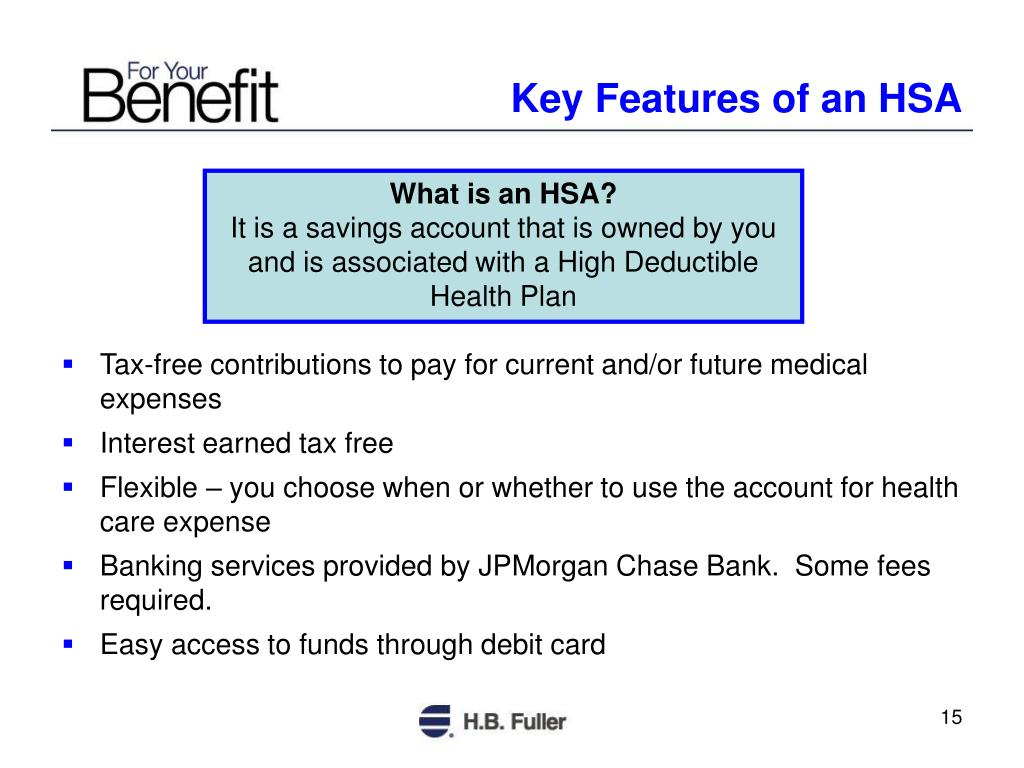 Key Features of an HSA