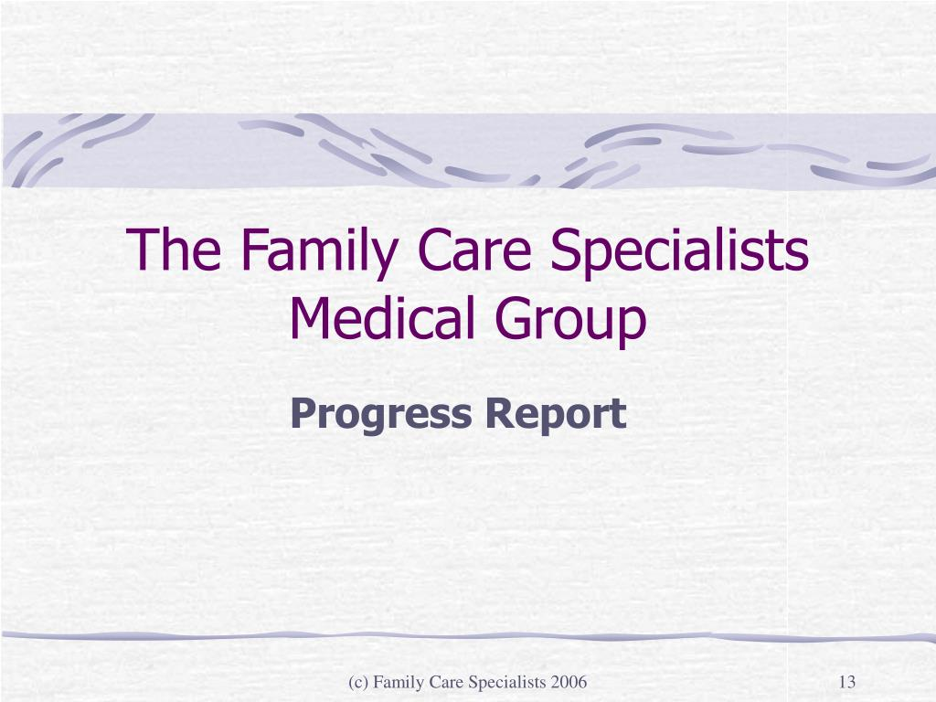The Family Care Specialists Medical Group