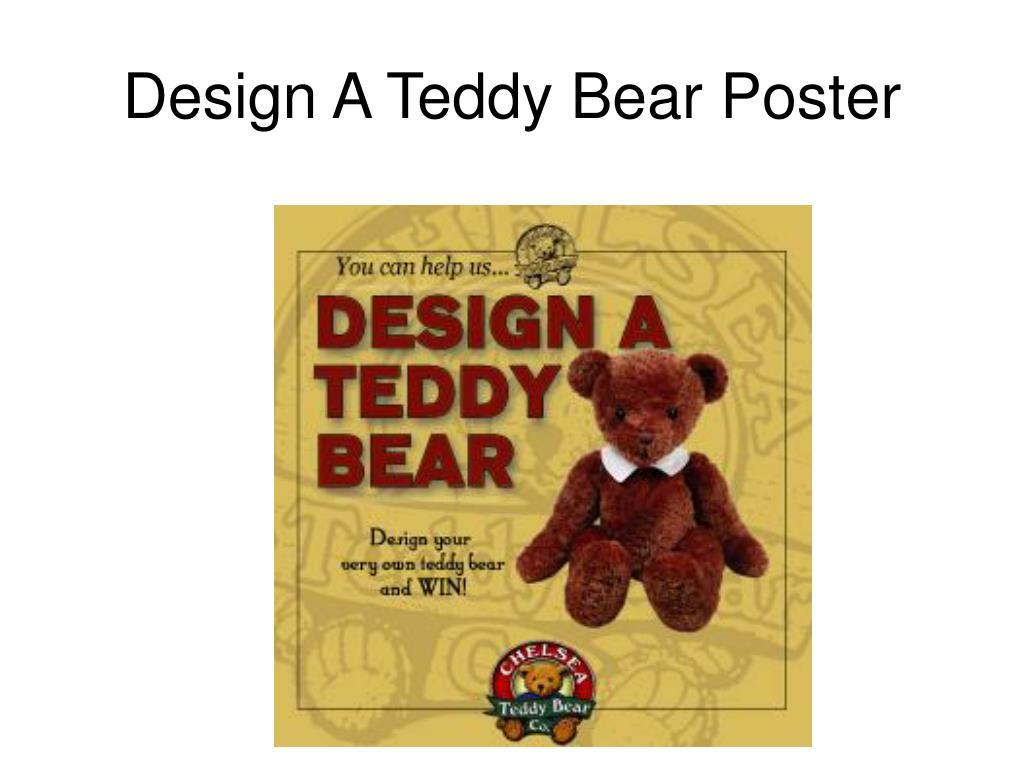 Design A Teddy Bear Poster