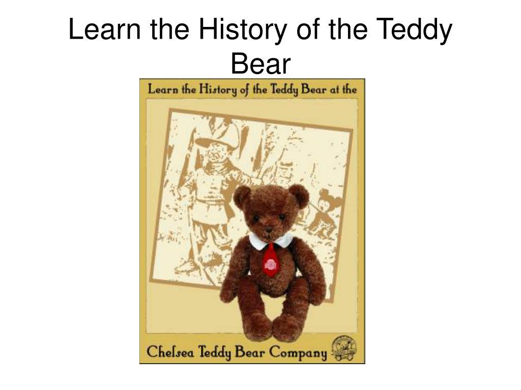 Learn the History of the Teddy Bear