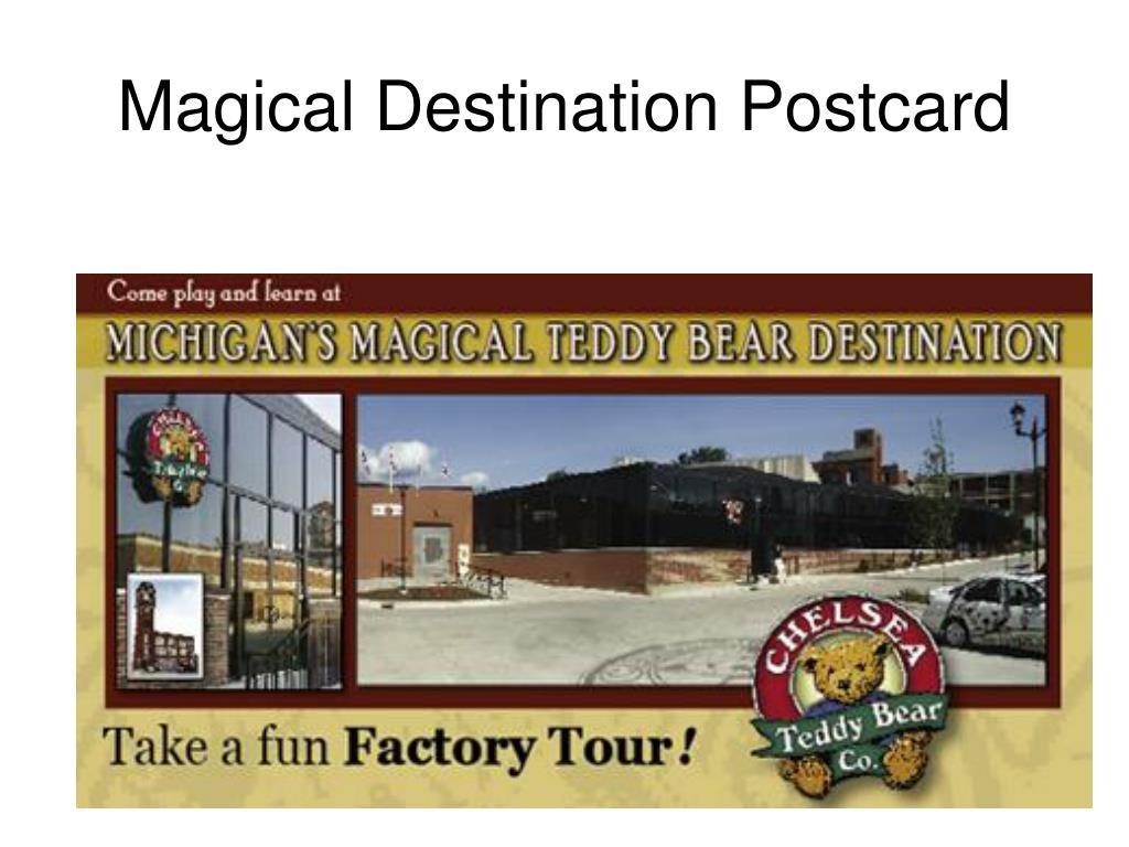 Magical Destination Postcard