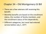 chapter 34 old montgomery gi bill