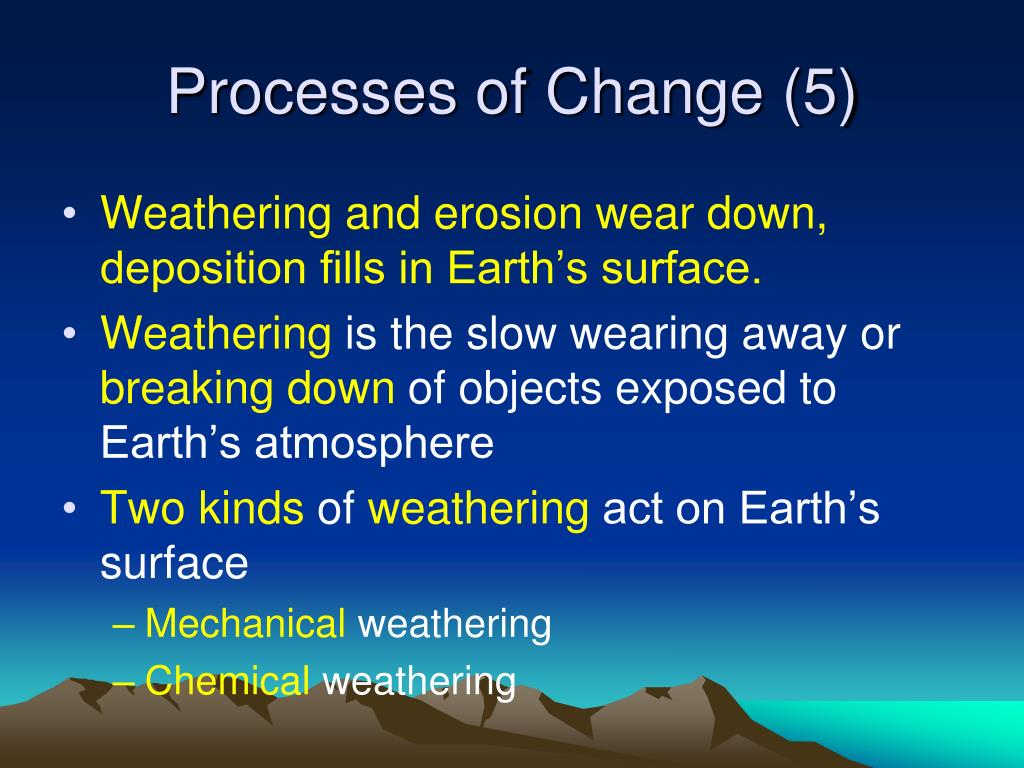 Processes of Change (5)