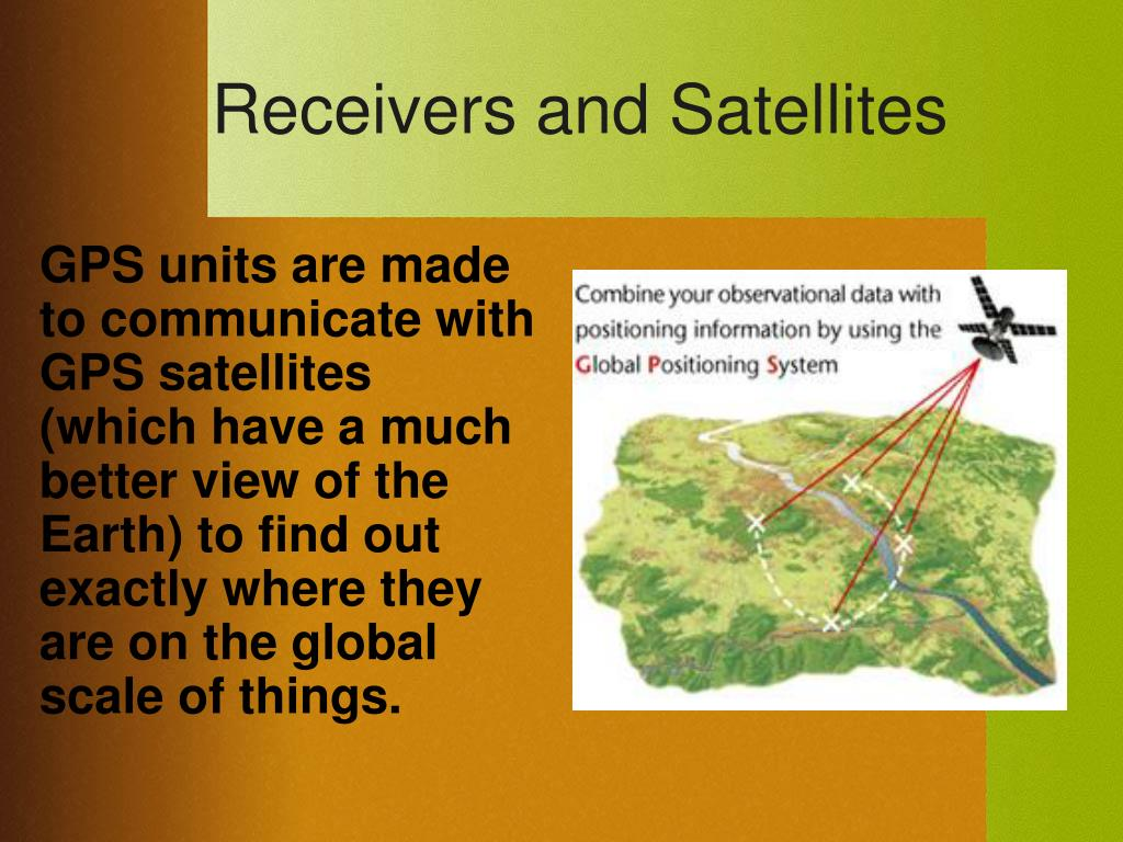Receivers and Satellites