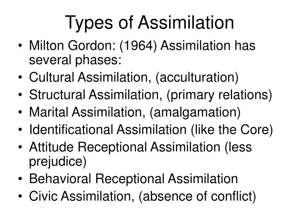 the struggle of assimilation Chapters 1-3 study  the traditional perspective on assimilation, how diverse people helped to construct us society, assimilation as egalitarian and benign, a .