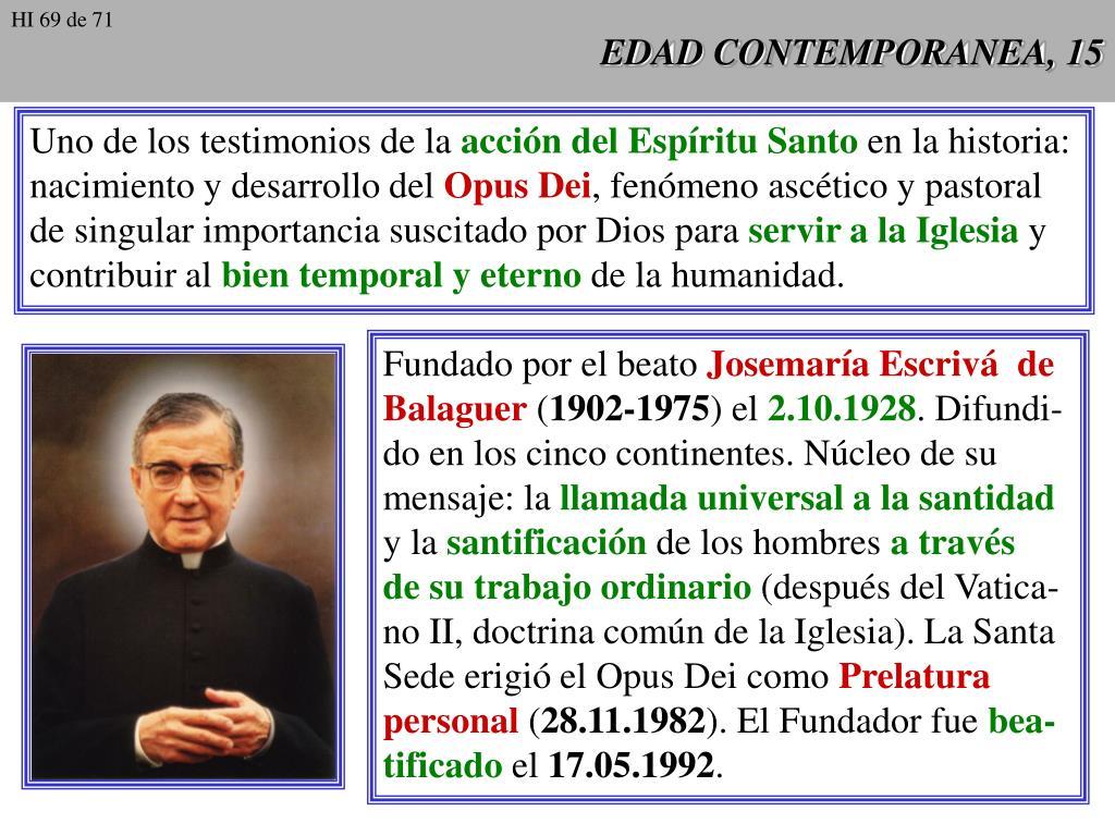 EDAD CONTEMPORANEA, 15