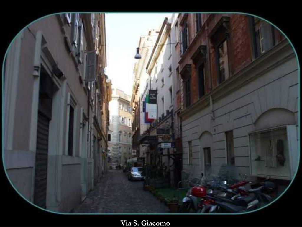 Via S. Giacomo