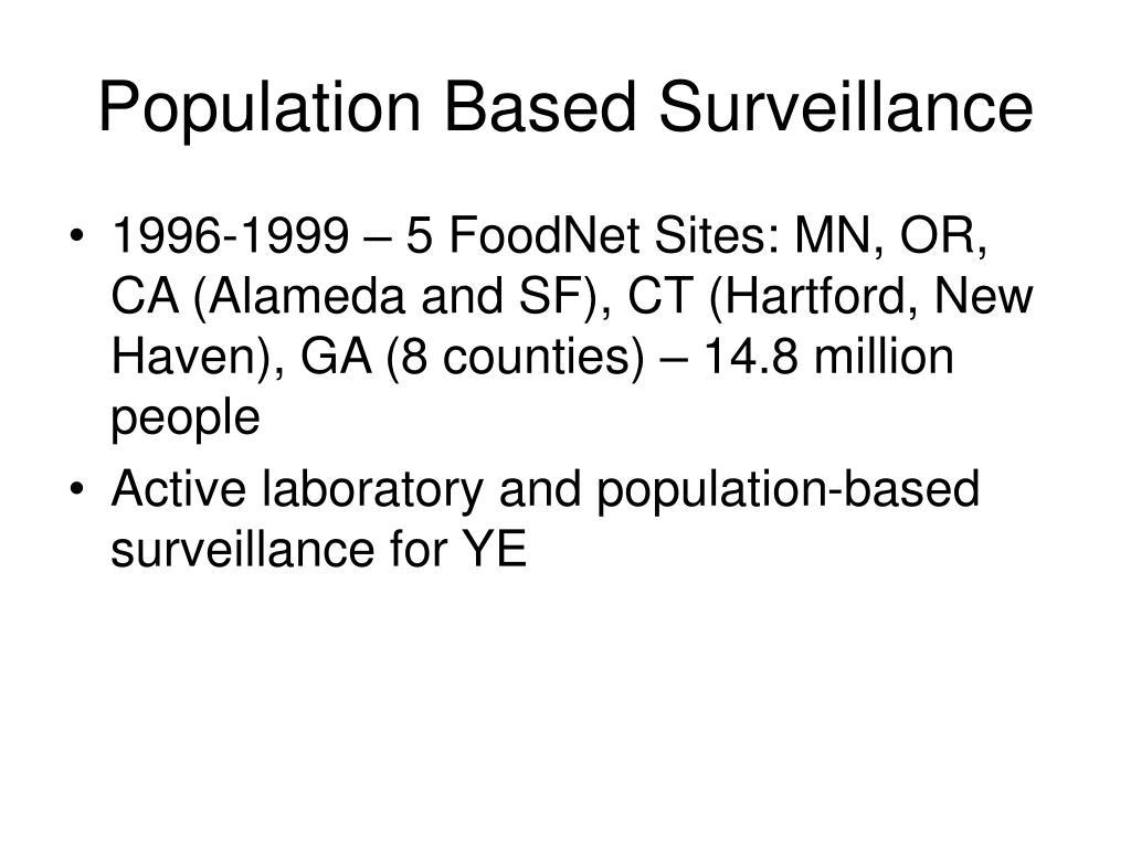 Population Based Surveillance