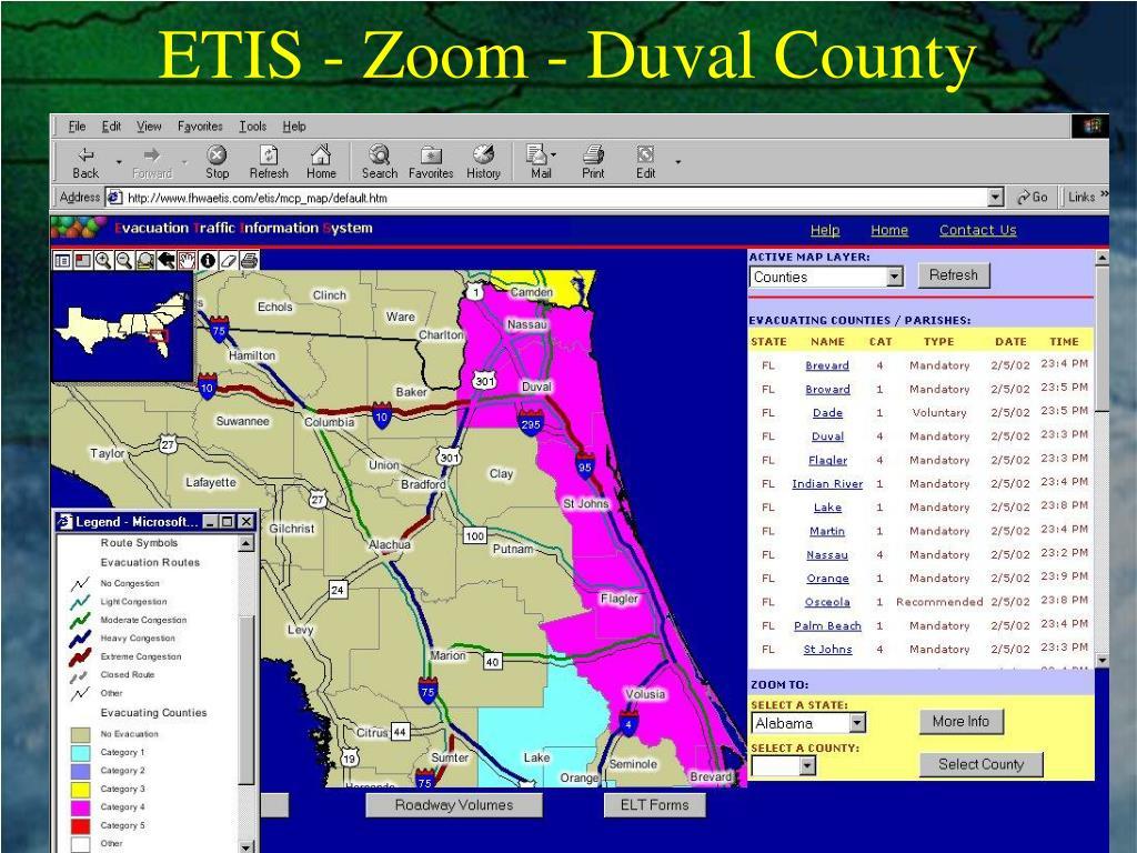 ETIS - Zoom - Duval County
