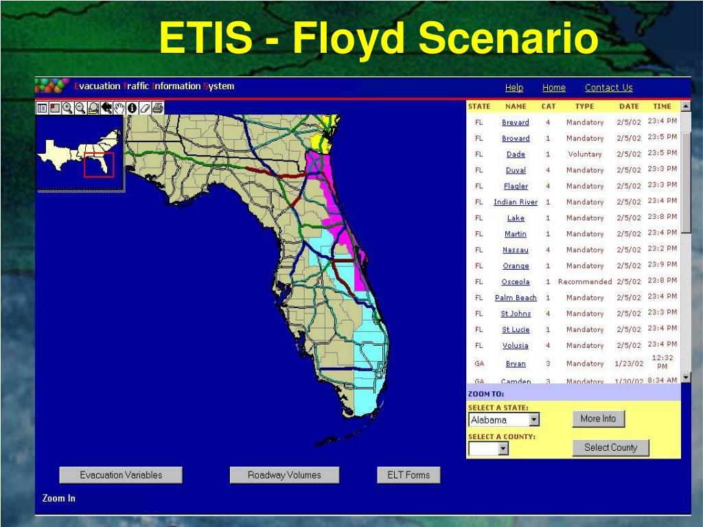 ETIS - Floyd Scenario